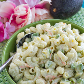 Thumbnail image for Hawaiian Macaroni Salad with Avocados