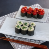 Thumbnail image for Fresh Tomato Gunkan-maki from The Vegetable Sushi Cookbook