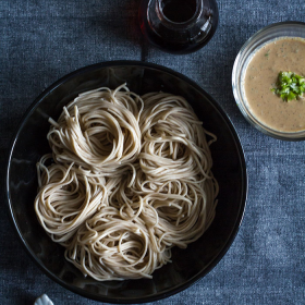 Thumbnail image for Cold Soba Noodles with Sweet Walnut Dipping Sauce — Let's Cook Japanese Food!