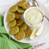 Thumbnail image for Baked Avocado Falafel with Avocado Lemon Tahini Sauce