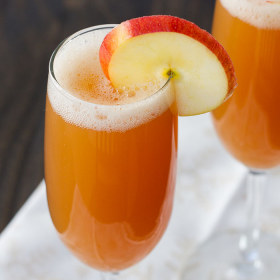 Thumbnail image for Honeycrisp Apple Spritzer + Veganuary!