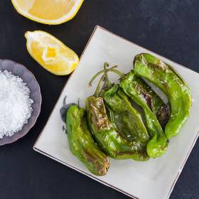 Thumbnail image for Air-Fried Charred Shishito Peppers + Power AirFryer XL Review