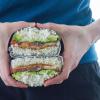Thumbnail image for TTLA Onigirazu (Tempeh Bacon, Tomato, Lettuce & Avocado Onigirazu)