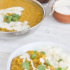 Thumbnail image for Instant Pot Red Lentil Dal with Cashew Cream Drizzle