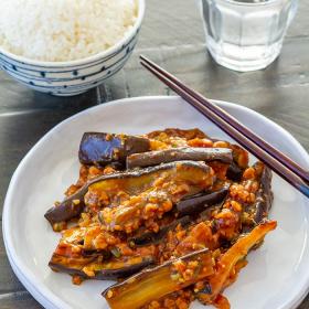 Thumbnail image for Vegan Mapo Nasu (Japanese Eggplant Stir Fry)