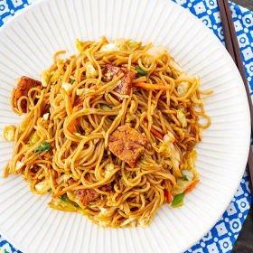Thumbnail image for Vegan Yakisoba—Japanese Stir-Fried Noodles