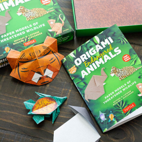 Thumbnail image for Origami Endangered Animals Kit