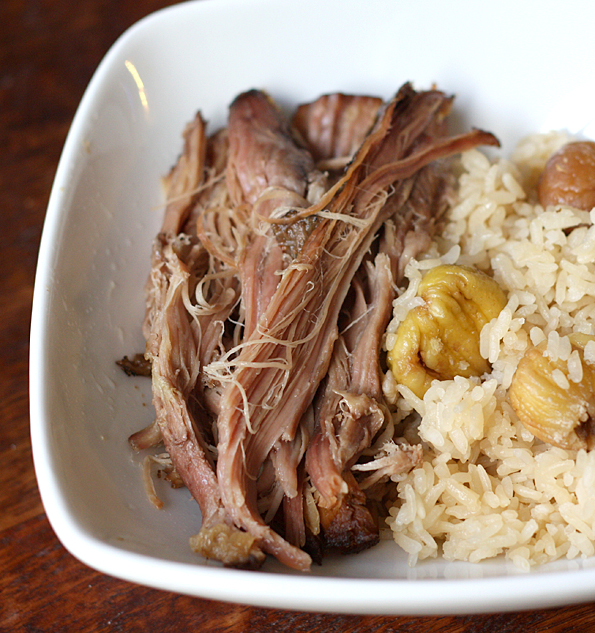 Slow Cooker Kalua Pig with Kurigohan