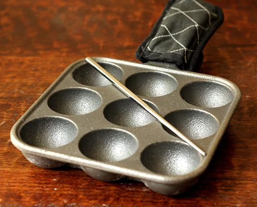 9-Hole Aebleskiver Pan