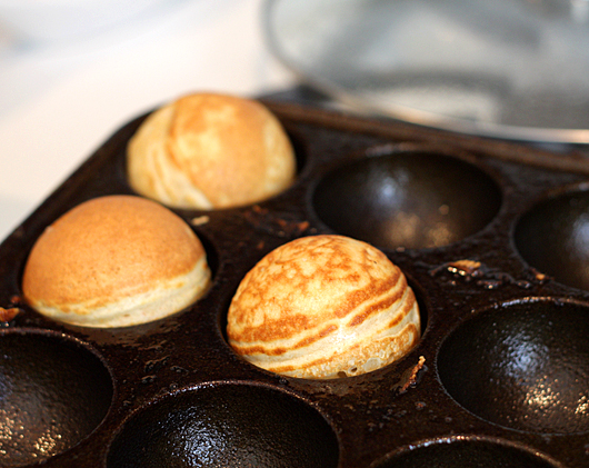 Cooking Aebleskivers