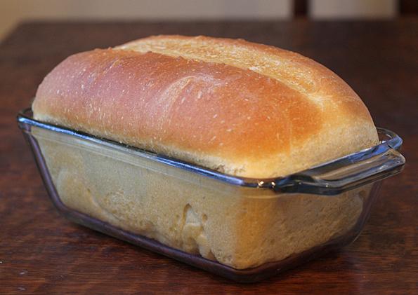Loaf of Ruhlman Sandwich Bread