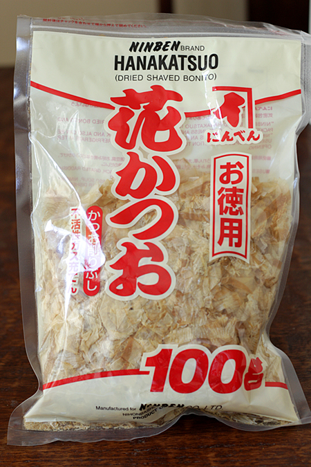 Packaged katsuobushi