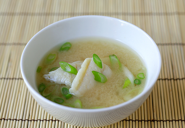 White Fish Miso Soup