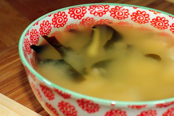 Gaelle miso soup