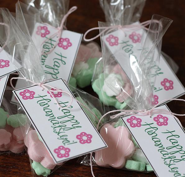 Hinamatsuri Candy Bagged & Tagged