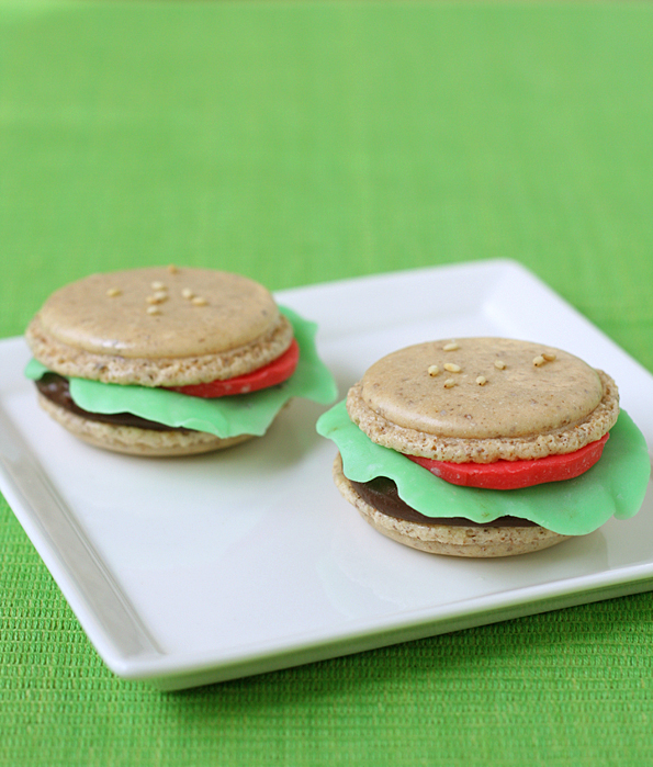 Big Mac Macarons