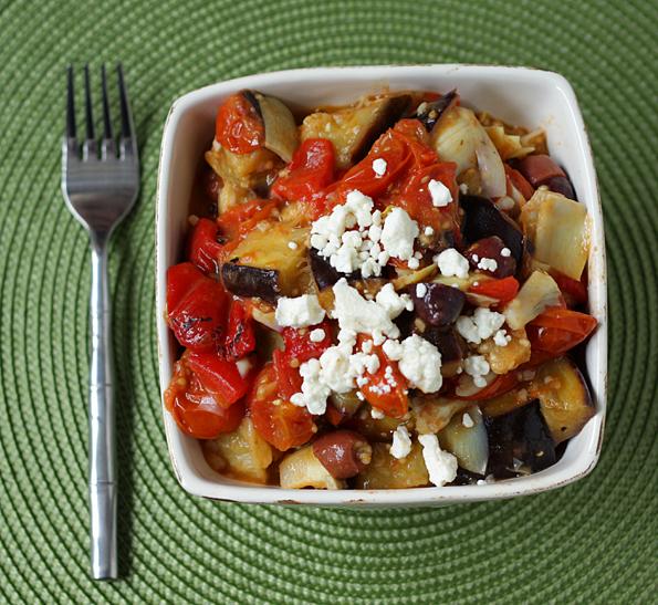 Hot Mediterranean Salad