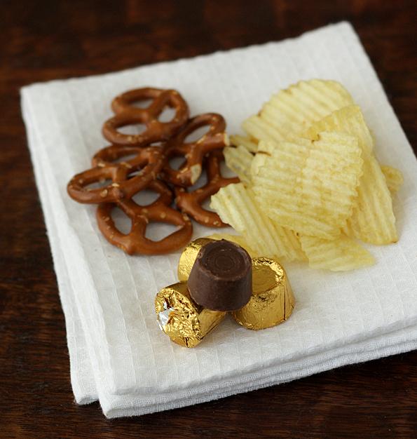 Pretzels, Potato Chips, & Rolos