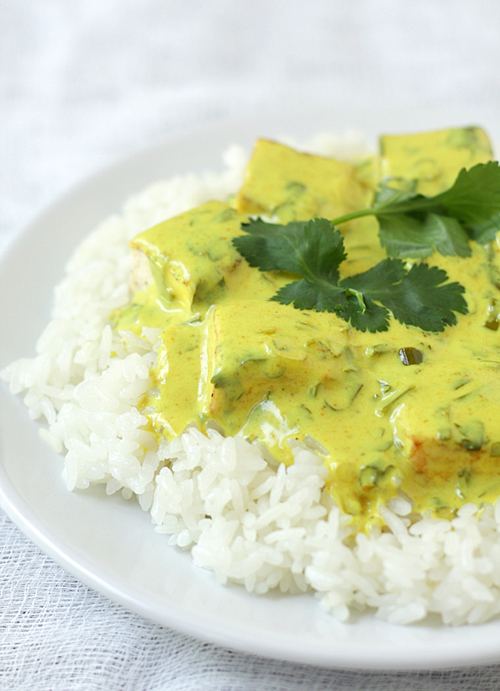 Revolution Tofu Curry