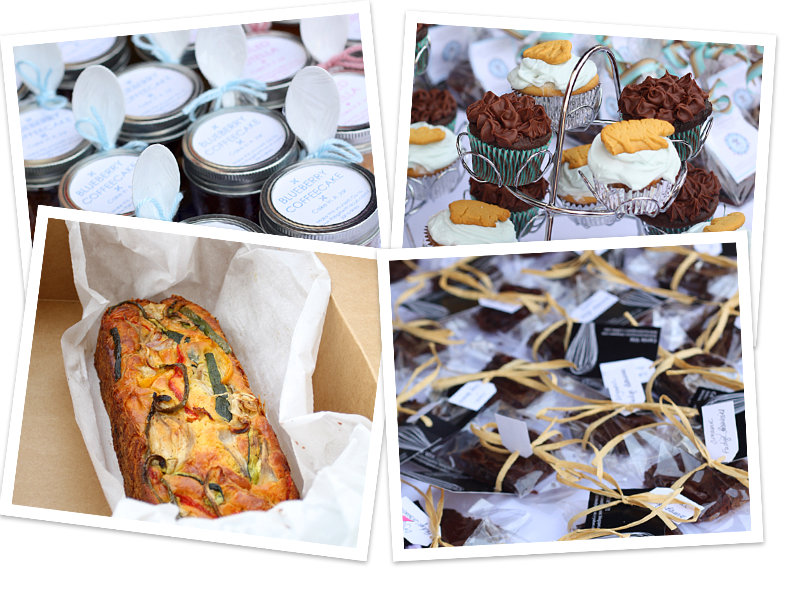 Amazing variety at the Food Blogger Bake Sale