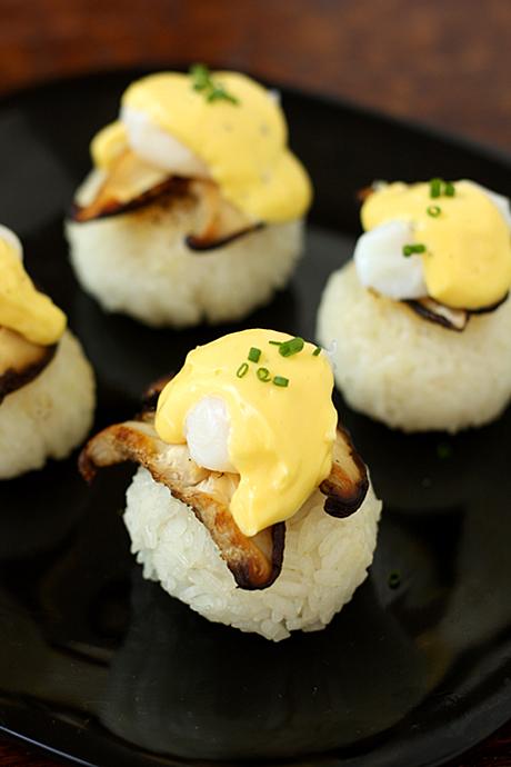 Eggs Benedict Pagodas