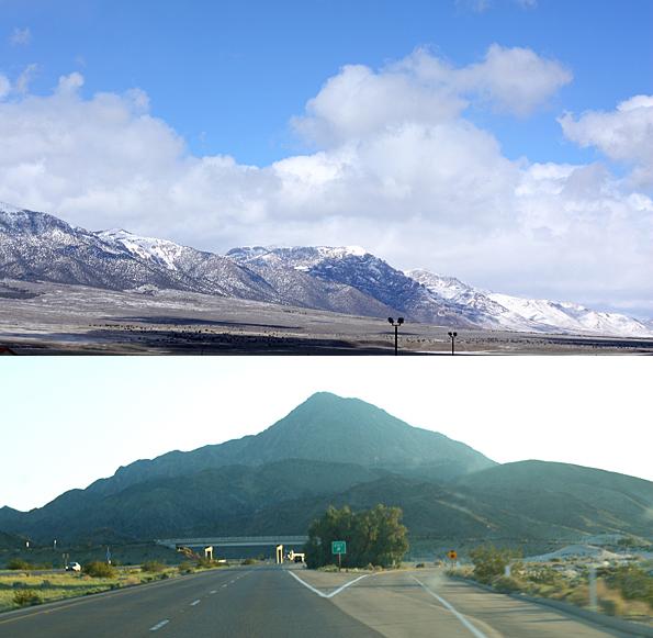 From snowy Utah to the windswept desert of Nevada