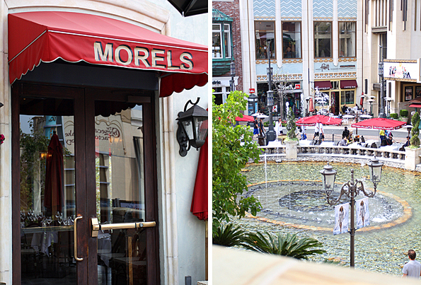 Morel's French Bistro at The Grove in Los Angeles