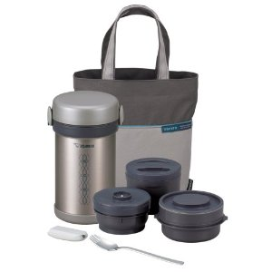 Ms. Bento Stainless-Steel Vacuum Luncj Jar Set