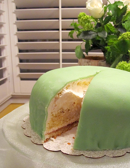 How to Assemble a Swedish Princess Torte