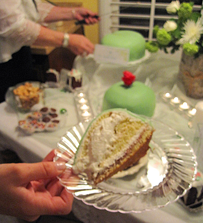 Serving up a slice of Princess Torte
