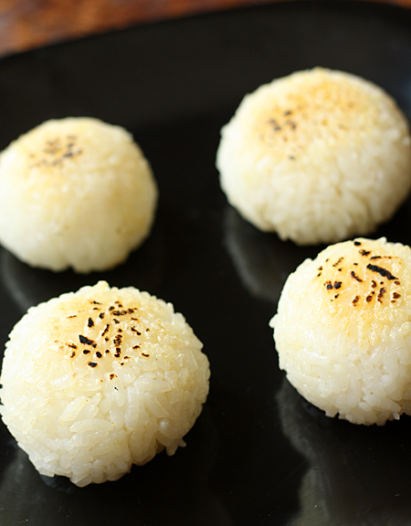 rice sesoning you can also have yaki onigiri grilled onigiri