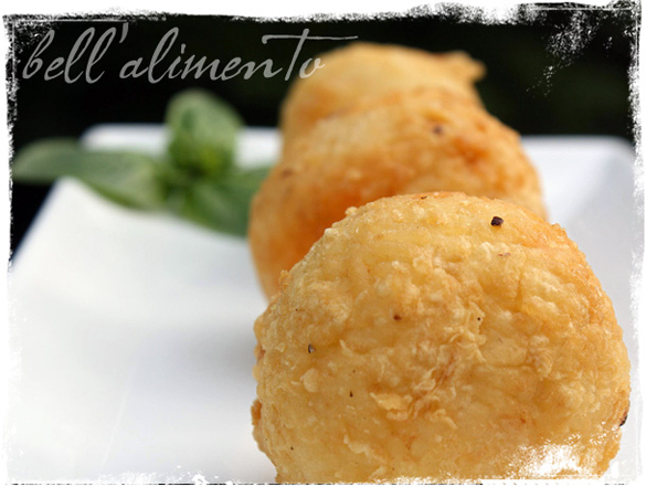 Arancini alla Siciliana--Italian croquettes