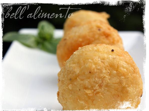 Arancini alla Siciliana--Italian croquettes