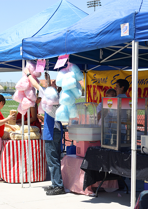 Cotton candy, snow cones, & kettle corn