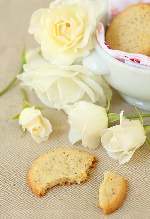 Delicate Orange Blossom Sables