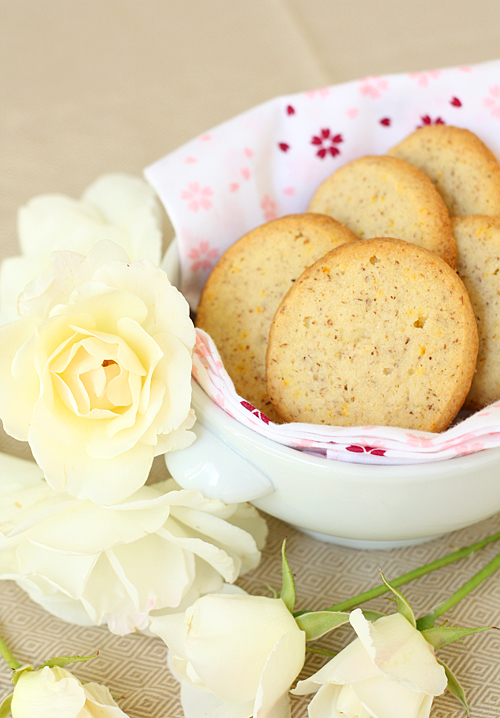 Orange Blossom Sables for Mother's Day
