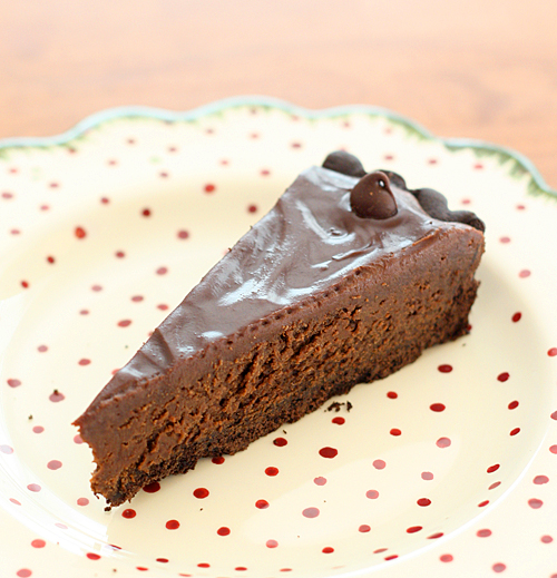 Sinful Chocolate Truffle Tart