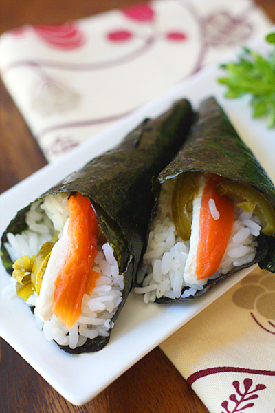 Temaki Sushi closeup