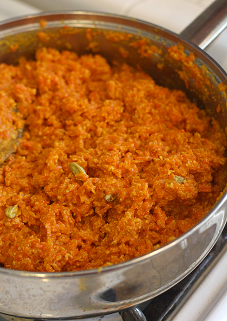 Finished Carrot Halwa