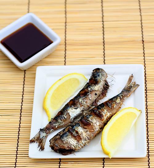 Shio Yaki Sardines