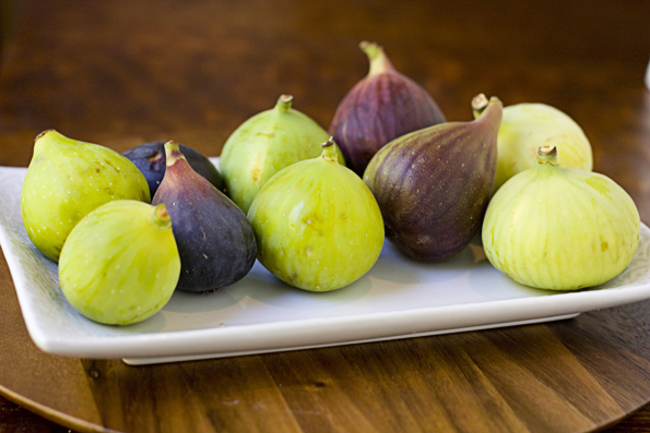 Assortment of fresh California Figs
