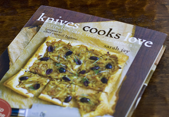 Book---Knives Cooks Love, by Sarah Jay