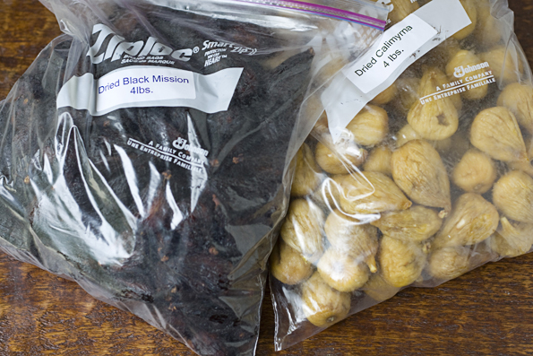 Dried Black Mission and Calimyrna Figs