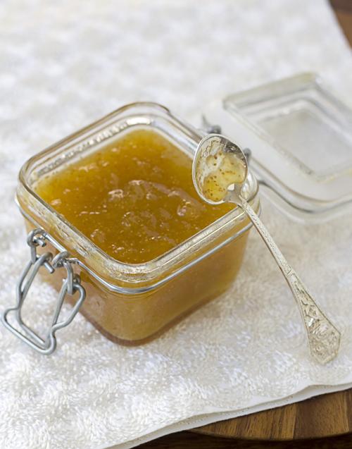 Fig, fresh ginger, and star anise preserves