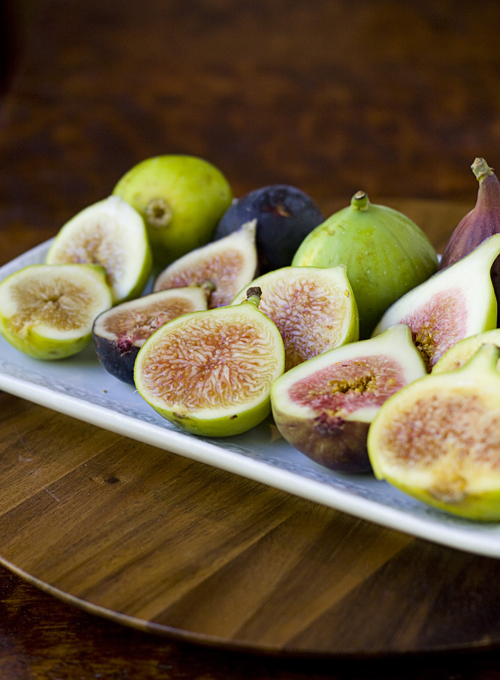 Fresh California Figs ready to be eaten