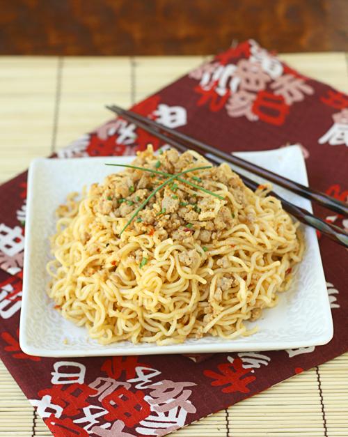Spicy Miso Pork Ramen Noodles — La Fuji Mama