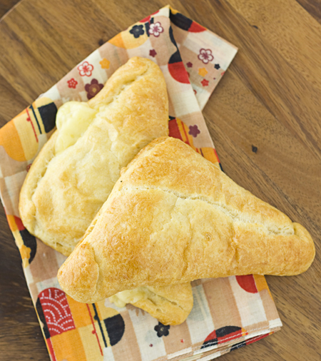 Cheese & Asian Pear Turnovers fresh out of the oven