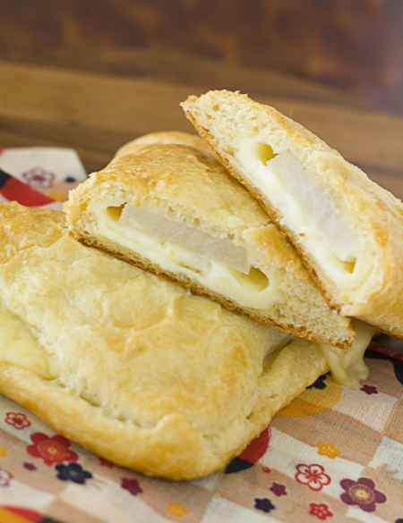 Jarlsberg Cheese & Asian Pear Turnovers