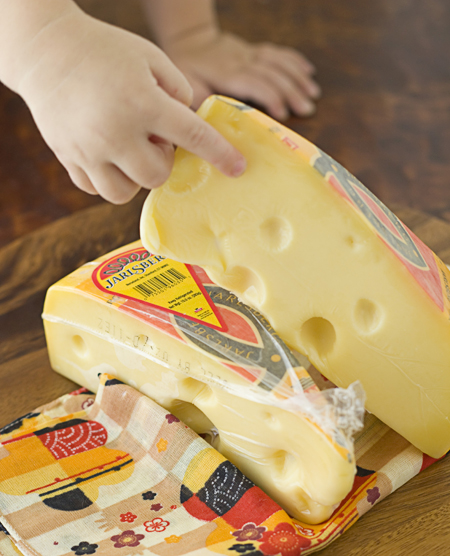Kids love Jarlsberg cheese!