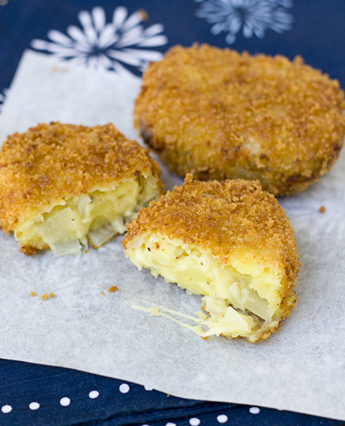 Nice & Cheesy Sweet Potato & Jarlsberg Cheese Croquettes